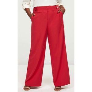 NWT Lane Bryant Allie Tailored Wide Leg Pants